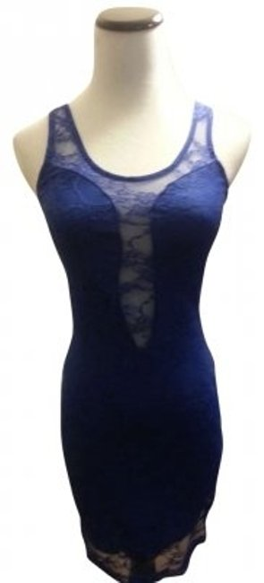 Preload https://item2.tradesy.com/images/cobalt-blue-sexy-lace-knee-length-night-out-dress-size-2-xs-165346-0-0.jpg?width=400&height=650