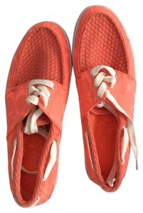 Coach Florida Orange Flats