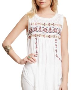 Free People Tunic Tunic Tunic Top White