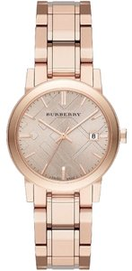 Burberry BU9135 The City Rose Dial Rose Gold-tone Ladies Watch