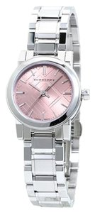 Burberry Burberry The City BU9231 Silver Tone Stainless Pink Dial Womens Watch