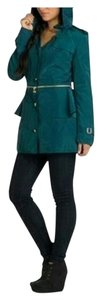 Betsey Johnson Slate Teal Jacket