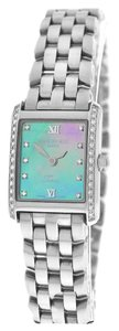 Raymond Weil Ladies Raymond Weil Tosca 5874 Stainless Steel Blue MOP Diamond Quartz Watch