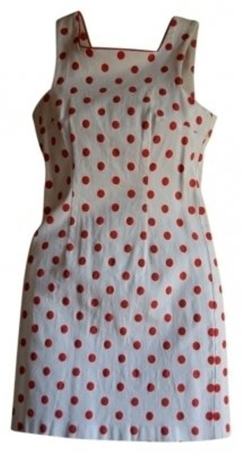 Preload https://item3.tradesy.com/images/red-and-white-polka-above-knee-night-out-dress-size-2-xs-16537-0-0.jpg?width=400&height=650