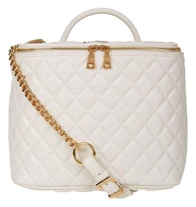 Love Moschino New Collection Satchel in cream