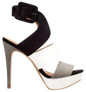 Zara Black, gray, white Platforms