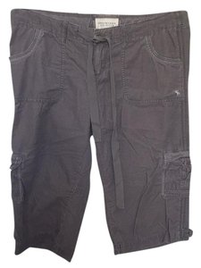 Abercrombie & Fitch Cargo Shorts Gray