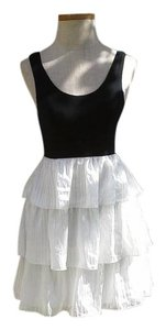 Walter by Walter Baker short dress white/black on Tradesy