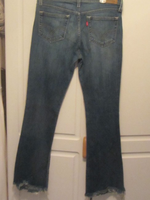 Levi's Boot Cut Jeans-Medium Wash Image 4