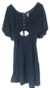 Free People short dress Blue on Tradesy