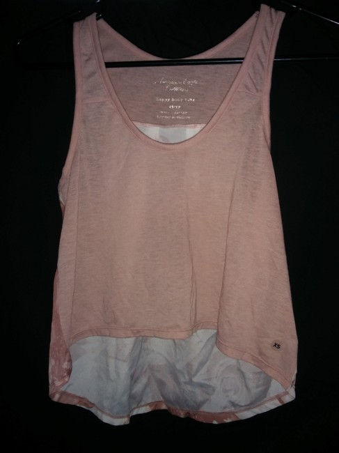 American Eagle Outfitters Happy Hour Pink Layering Top Light Pink