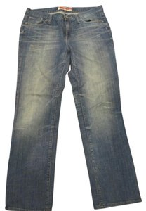 Gap Straight Leg Jeans-Distressed