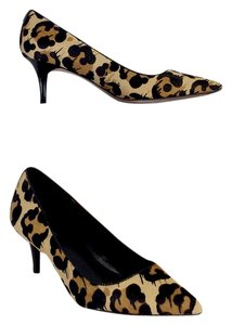 Coach Leopard Print Calf Hair Pumps
