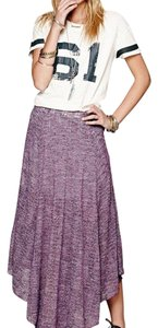 Free People Maxi Skirt Purple
