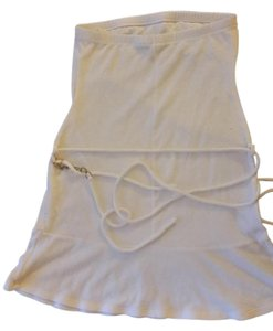 Other short dress white Summer Strapless Cover Up Beach on Tradesy