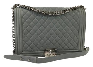 Chanel Boy Large Caviar Shoulder Bag