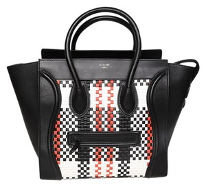 Céline Celine Mini Luggage Tote in black