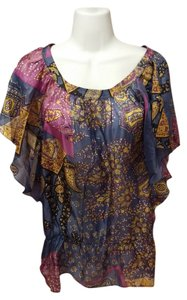Promod Top Multi Paisley