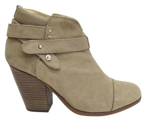 Rag & Bone taupe grey suede Boots
