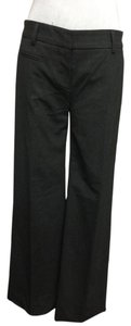 Theory Wool Blend Flare Pants Gray