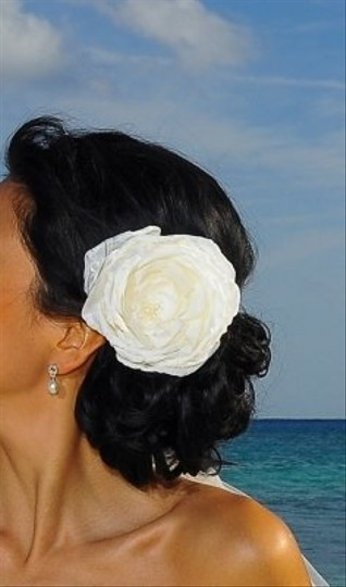 Other Ivory Bridal Flower Facinator