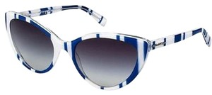 Dolce&Gabbana Dolce-Gabbana DG4181P-27208G Women's Blue-White Sunglasses New In Box