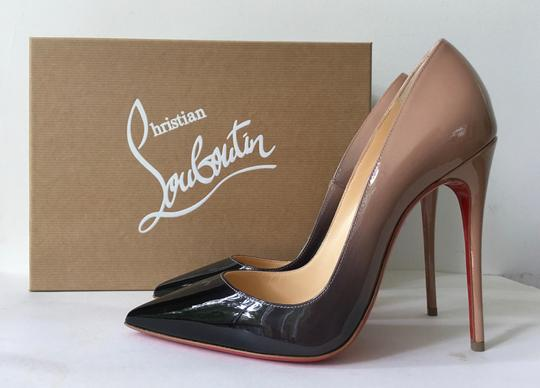 Christian Louboutin So Kate Degrade So Kate 120 Ombre Black Nude Pumps
