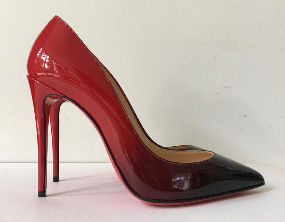 christian louboutin patent leather pigalle 100 pumps w tags