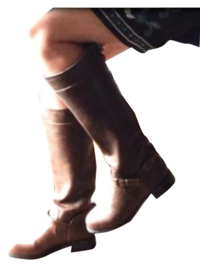 XOXO Brown Boots