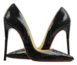 Christian Louboutin Laser Cut Kristali Crystal Pumps