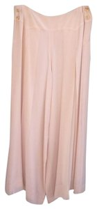 Chanel Vintage Designer Wide Leg Pants Cream