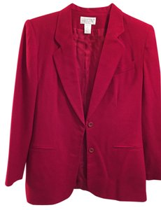 Lands End Red Blazer