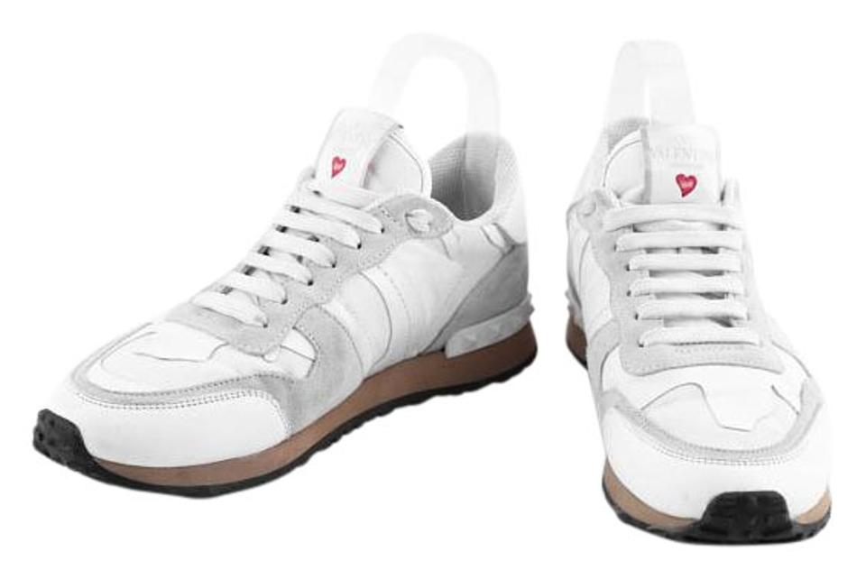 90b06395b732 Valentino White L amour Rockrunner Sneakers Sneakers Size US 7.5 ...