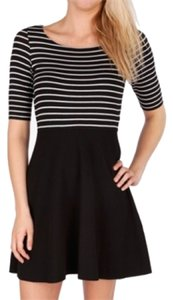 Bailey 44 short dress Black, Striped on Tradesy