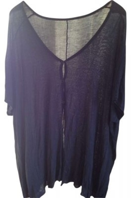Preload https://item1.tradesy.com/images/lf-blue-cardigan-size-os-one-size-165455-0-0.jpg?width=400&height=650
