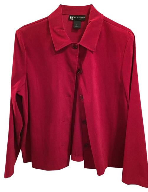Rl. Richard Red Blazer Image 0