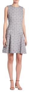 Tory Burch short dress White and Black Summer on Tradesy