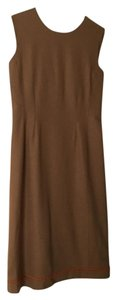 Prada short dress Camel on Tradesy