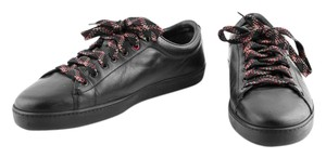 Gucci Leather Sneakers black Athletic