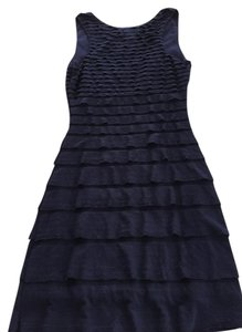 Max Studio short dress Navy Blue on Tradesy