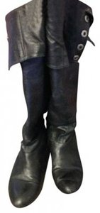 Chinese Laundry Black faux leather Boots