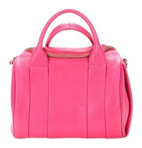 Alexander Wang Rockie Studded Summer Satchel in Pink
