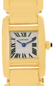 Cartier Cartier Tankissime 18K Yellow Gold Ladies Watch W650037H Box Papers