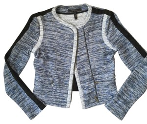 BCBGMAXAZRIA Black/blue multi Jacket
