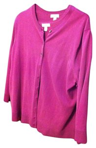 Charter Club Silk Sweater Plus Size Cardigan