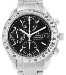 Omega Omega Speedmaster Date Black Dial Chronograph Mens Watch 3513.50.00