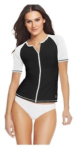 Tommy Bahama Colorblocked Deck Piping Rash Guard