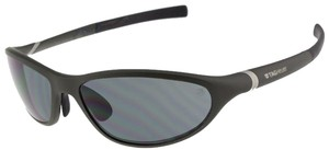 TAG Heuer Tag-Heuer TH6004-003 Men's Black-Green Frame/Dark Grey Lens Sunglasses New In Box
