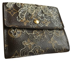 Louis Vuitton Louis Vuitton Limited Edition Lace Compact Wallet