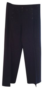 Céline Wide Leg Pants Dark Navy